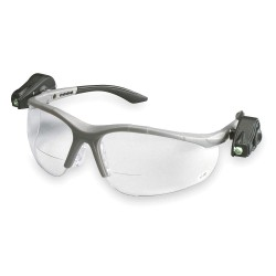 3M - 11479-00000-10 - Clear Anti-Fog Bifocal Safety Reading Glasses, +2.5 Diopter