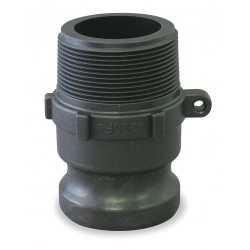 Banjo - 075F - Polypropylene Adapter, Coupling Type F, Male Adapter x MNPT Connection Type