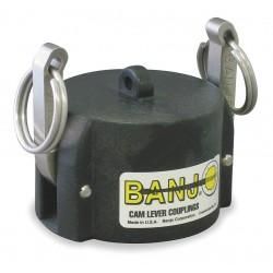 Banjo - 100125CAP - Polypropylene Dust Cap, Coupling Type DC, Female Coupler Connection Type