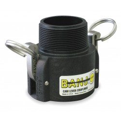 Banjo - 125B - Polypropylene Coupler, Coupling Type B, Female Coupler x MNPT Connection Type