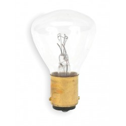 GE (General Electric) - 1196 - Trade Number 1196, 38 Watts Miniature Incandescent Bulb, RP11, Double Contact Bayonet (BA15d)