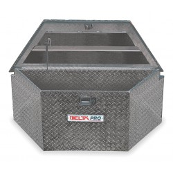 Jobox - 416002 - Aluminum Trailer Tongue Box, Black, Single, 6.1 cu. ft.
