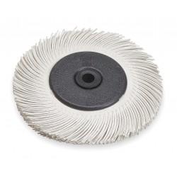 Scotch-Brite - 33212 - 6 Radial Bristle Brush, Curved Bristles, 7/16 Face Width, 120 Grit, Ceramic