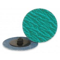 ARC Abrasives - 11-319136 - 2 Quick Change Disc, Zirconia Alumina, TR, 80 Grit, Medium, Coated, ZA/Y, PK25