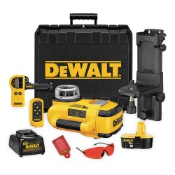Dewalt - DW079KD - Electronic Self-Leveling Rotary Laser Level, Horizontal and Vertical, Interior and Exterior