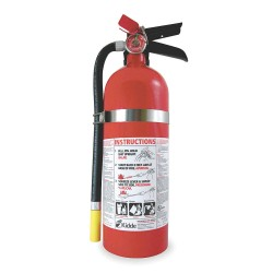Kidde Fire and Safety - FC340M-VB - Dry Chemical Fire Extinguisher with 5 lb. Capacity and 13 to 15 sec. Discharge Time