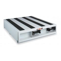 Jobox - 663980 - White Truck or Van Door Storage Tray, Steel, 36 Width, 48 Depth, Number of Drawers: 1