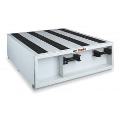 Jobox - 667980 - White Truck or Van Door Storage Tray, Steel, 36 Width, 48 Depth, Number of Drawers: 1
