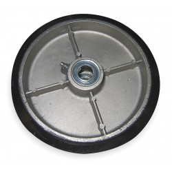 Wesco Industrial - 052868 - Wheel, 8x2 In, Mold On Rubber