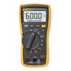 Fluke - FLUKE-115 - Handheld Digital Multimeter, 110 Series, 6000 Count, True RMS, Auto, Manual Range, 3.5 Digit