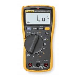 Fluke - FLUKE-117 - Electricians Digital Multimeter, VoltAlert, 110 Series, 6000 Count, True RMS, Auto, Manual Range