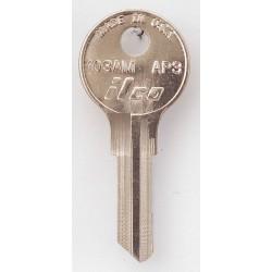 Kaba Ilco - 103AM-AP3 - Key Blank, Brass, Type AP3, 5 Pin, PK10