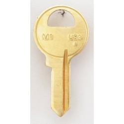 Kaba Ilco - M1-BR - Key Blank, Brass, Type 1092, 4 Pin, PK50