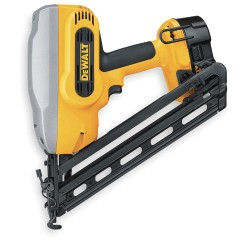 "Dewalt - DC628K - Cordless Finish Nailer Kit, Voltage 18.0 NiCd, Battery Included, Fastener Range 1-1/4"" to 2-1/2"""