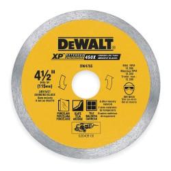 Dewalt - DW4765 - DeWALT DW4765 4-1/2'' x .060'' Porcelain Tile Blade Wet/Dry