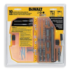 Dewalt - DW5366 - DeWALT DW5366 10 Pc. Anchor Drive Installation Kit