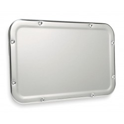 Bradley - SA05-000000 - Front Mount 17-1/4H x 11-1/4W Security Framed Wall Mirror