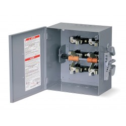 Square D - 82354 - Safety Switch, 1 NEMA Enclosure Type, 200 Amps AC, 15 HP @ 240VAC HP