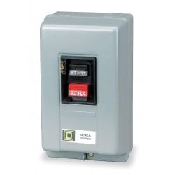 Square D - 2510MBG1 - Push Button Manual Motor Starter, Enclosure NEMA Rating 1, 18 Amps AC, NEMA Size:M-0
