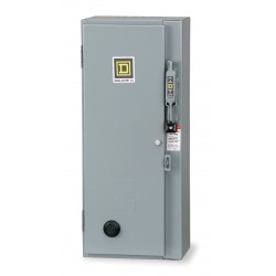 Square D - 8538SCA24V02S - NEMA Fusible Combination Starter, 600VAC Max. Motor Voltage, 27 Amps AC, 120VAC Coil Volts