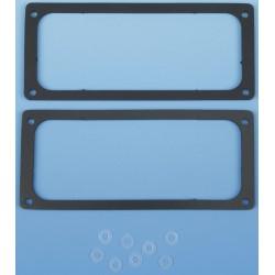 Box Enclosures - SK3 - Sealing Kit, Polyurethane Foam, Black Finish, For Use With: B3 Aluminum Enclosures