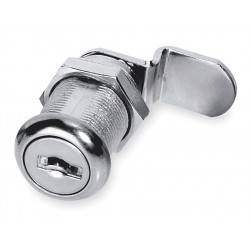 American Lock - ADCL11814AKA-C413A - Alike-Keyed Standard Keyed Cam Lock Key # C413A, For Door Thickness (In.): 7/8, Bright Nickel