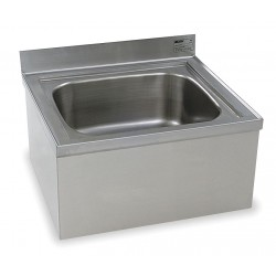 Eagle Group - F1916 - 24-5/8 x 21-1/2 x 15-1/2 Stainless Steel Mop Sink, 8 Bowl Depth, Stainless Steel