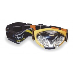 Energizer - HDL33AINE - Energizer HDL33AINE Industrial 6 LED Headlight - AAA - Yellow, Black