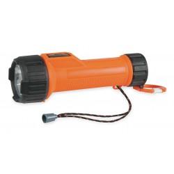 Energizer - MS2DLED - Industrial LED Handheld Flashlight, Plastic, Maximum Lumens Output: 60, Orange
