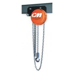 Columbus McKinnon - 4832 - 646 1/2 Ton Cyclone Lowheadroom Trolley Hoi