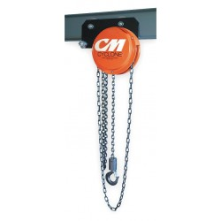 Columbus McKinnon - 4835 - 646 1-1/2 Ton 8' Lift Cyclone Low Headroo