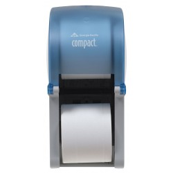 "Georgia Pacific - 56789 - Georgia-Pacific Compact 3000 Tissue Dispenser - Coreless - 13.5"" x 6.5"" x 6"" - Splash Blue"