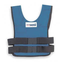 Bullard - ISO2XL - Cooling Vest, Proban Treated Cotton, Blue, XL, Fits Chest Size 46 to 52