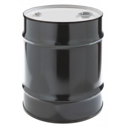 Skolnik - CQ1003L - 10 gal. Black Steel Closed Head Transport Drum