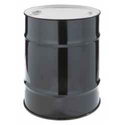 Skolnik - CQ1603 - 16 gal. Black Steel Closed Head Transport Drum