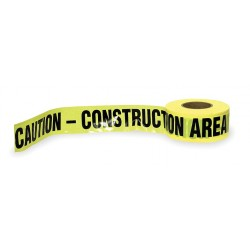 Other - 1N958 - Barricade Tape, Yellow/Black, 1000ft x 3In