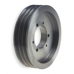 Gates - QD3/3V10.60 - V-Belt Pulley, Detachable, 3Groove, 10.6OD