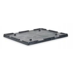 Buckhorn / Myers Industries - TL4840030010000 - Bulk Container Lid, Black, 2-7/8H x 48-1/2L x 40-1/4W, 1EA