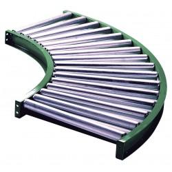 Ashland Conveyor - 10F90KG03B10 - Roller Conveyor, 90 Curve, 10BF