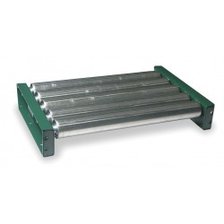 Ashland Conveyor - 10F05KG03B36 - Roller Conveyor, 5 ft. L, 36BF