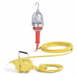 Daniel Woodhead - 1635-12B - Hazardous Location Hand Lamp, 75W, 50 ft