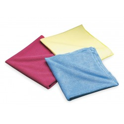 Saint Gobain - 07660705300 - Cloth, Microfiber, Blue, 16 x 16 In, PK20
