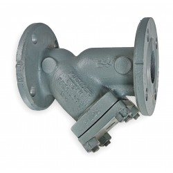 Mueller Steam Specialty - 3 782 SS-N FLANGED END - 3 Y Strainer, Flanged, 0.062 Mesh, 12 Length, Cast Stainless Steel