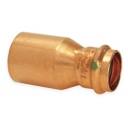 Viega - 14543 - Copper Fitting Reducers, FTG x Press Connection Type, 1-1/2 x 3/4 Tube Size