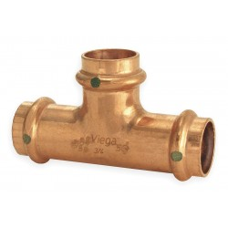 Viega - 15493 - Copper Tee, Press x Press x Press Connection Type, 1/2 x 1/2 x 1 Tube Size