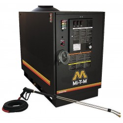MI-T-M - GH-2004-1230 - Medium Duty (2000 to 2799 psi) Electric Skid Mount Pressure Washer, Hot Water Type, 4.2 gpm, 2000 ps