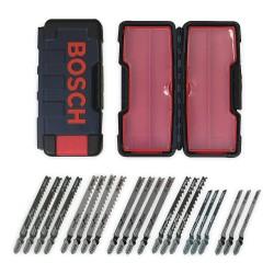 Bosch - TW21HC - HCS/HSS/BIM Jig Saw Blade Set, Shank Type: T