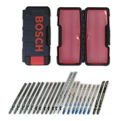 Bosch - TC21HC - 21 pc. T-Shank Jig Saw Blade Set for Multiple Materials