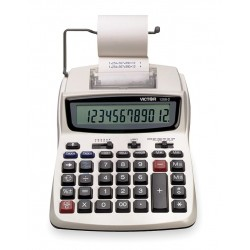 Victor - 1208-2 - Portable Calculator, LCD, 12 Digits