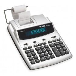 Victor - 1225-3A - Desktop Calculator, Ink Roller, 12 Digits